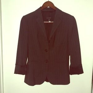 Limited Grey Pinstripe Blazer